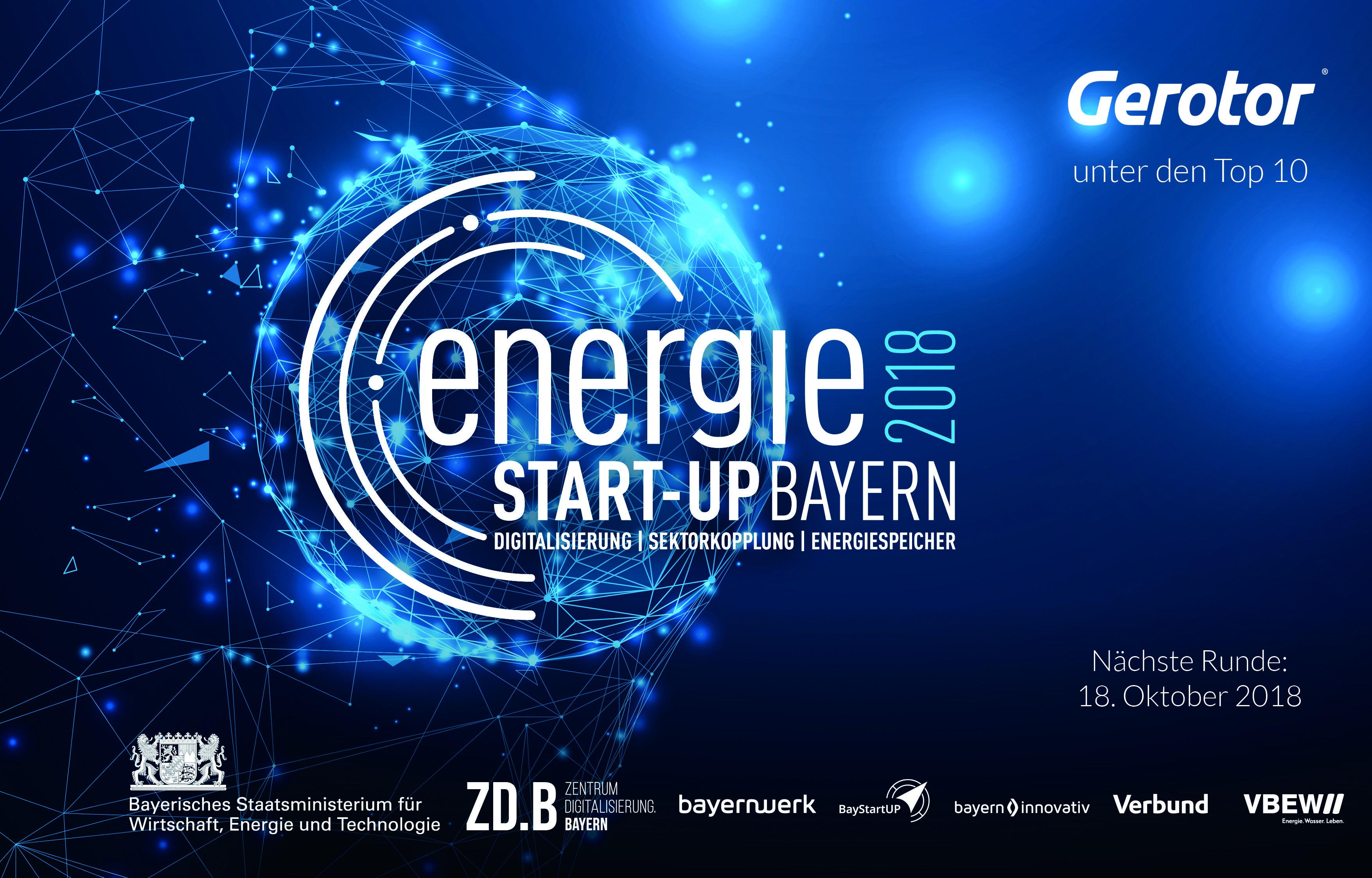 Top 10 Energie Startups Gerotor